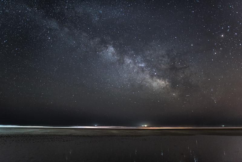 Milky Way Rising Arching Over Avalon Beach 5/9/16