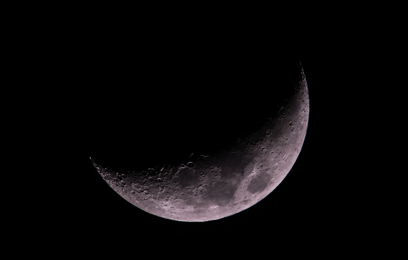 Waxing Crescent Moon 01/14/16