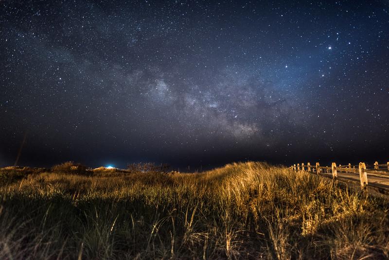 Milky Way Over Beach Dunes 5/9/16