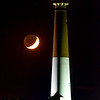 Crescent Moon Setting Behind The Barnegat Lighthouse 10/13/18