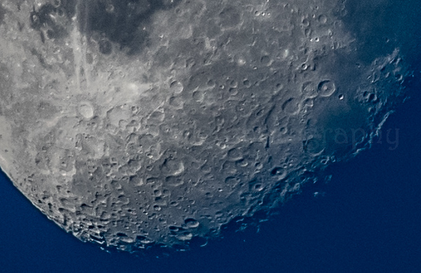 Endless Craters On The Moon 12/26/18