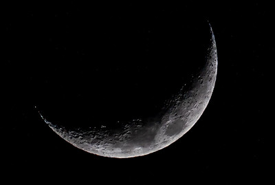 Waxing Crescent Moon 1/10/19