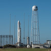 Antares Rocket on the Launch Pad 10/16/16