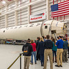 Antares Rocket in Assembly Building 10/16/16
