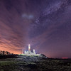 Milky Way Over Montauk Point Lighthouse, NY 5/3/17