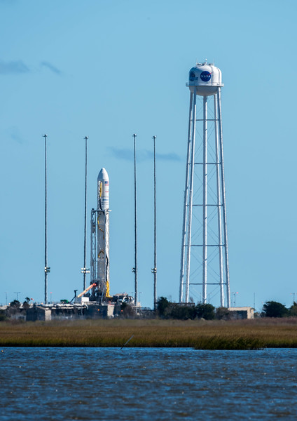 Antares Rocket on the Launch Pad 10/15/16