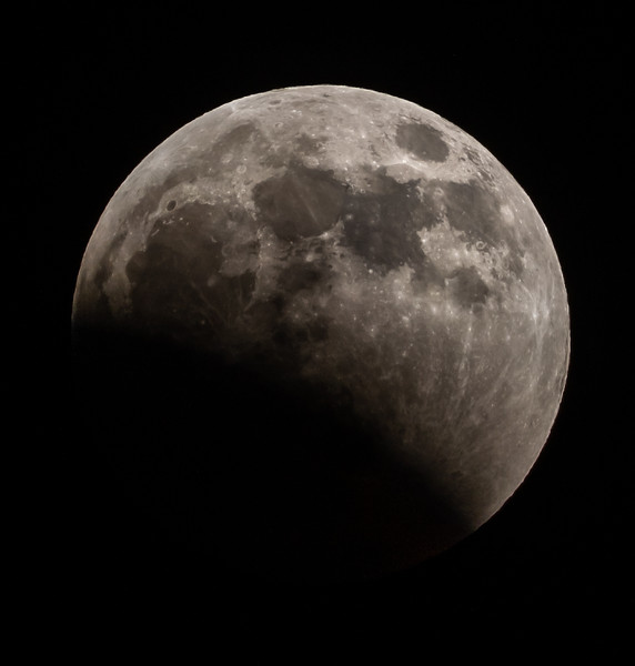 Lunar Eclipse of Super Wolf Blood Moon 1/20/19