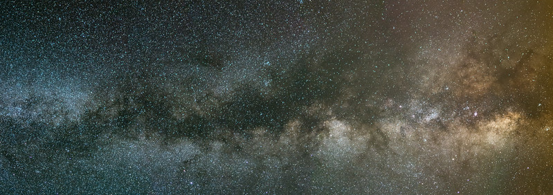 The Milky Way Galaxy and Core, Cherry Springs Park, PA