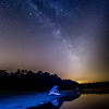 The Milky Way Galaxy on Lake, Pine Barrens, NJ
