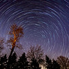 Star Trails Over Farmingdale, NJ