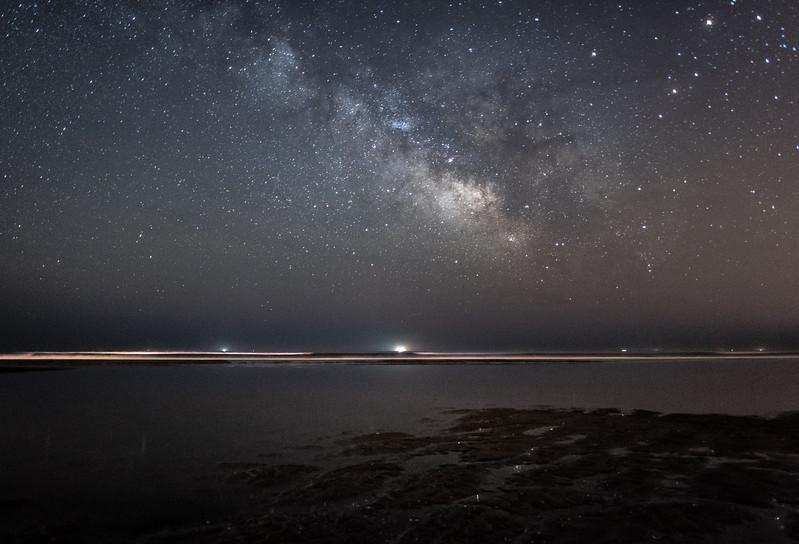 Milky Way Rising Over Avalon Beach 5/9/16