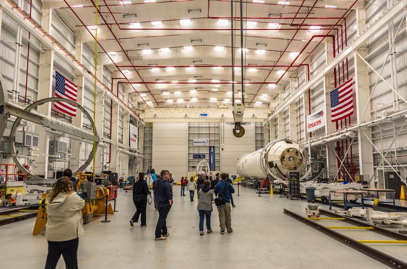 Antares Rocket Assembly Building 10/16/16