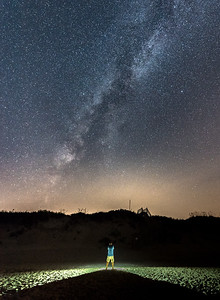 The Milky Way Arching Over Corolla, Outer Banks 8/14/18