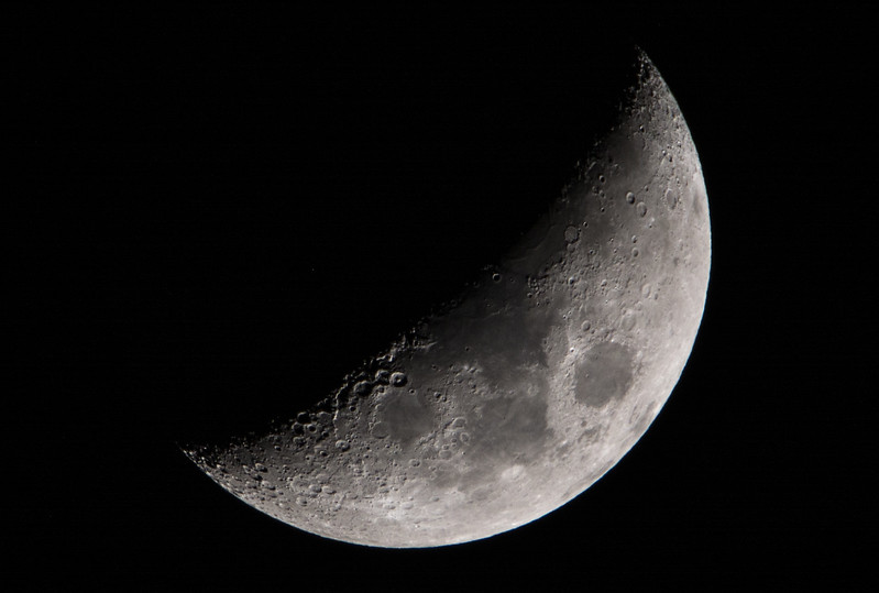 Waxing Crescent Moon 4/12/16