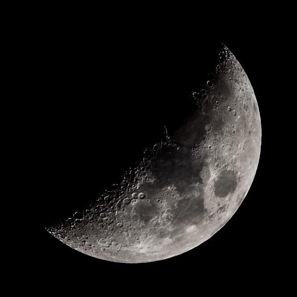 Waxing Crescent Moon 4/2/17