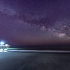 The Milky Way Rising Over Avalon Beach and Pier 3/13/19