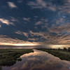 Starry Night With Fireflies Over Marshlands 6/26/17