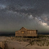 Milky Way Over Judge's Shack Panorama 6/8/16