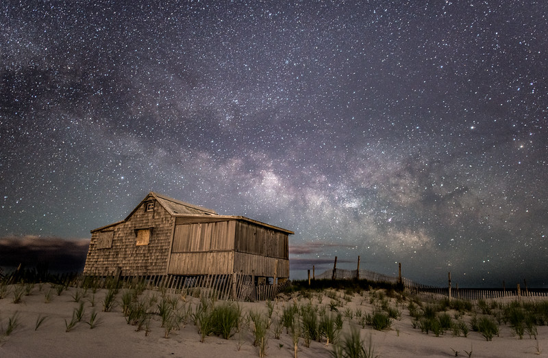 Milky Way Over Judge's Shack 6/8/16
