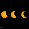 Total solar eclipse (entry phases) (8/21/2017)
