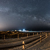 Milky Way Arching Over Avalon Beach Pathway 5/9/16