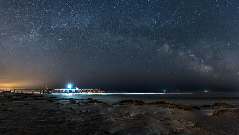 Milky Way Arching Over Avalon Beach 5/9/16
