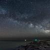 Milky Way Galaxy Over Barnegat Inlet 4/6/16