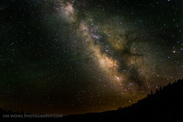Milky Way II, Mill Creek, CA (7/12/13)