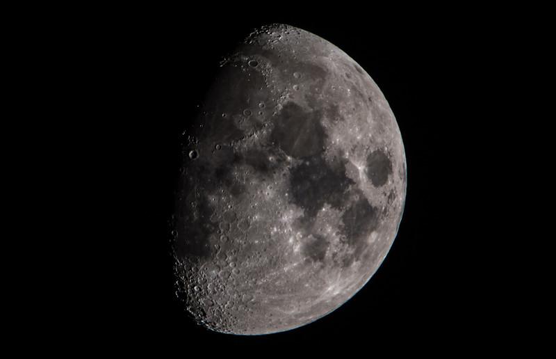 Waxing Gibbous Moon 01/18/16
