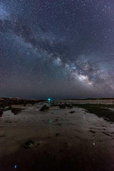 The Milky Way Rising Over Barnegat Beach 5/27/17