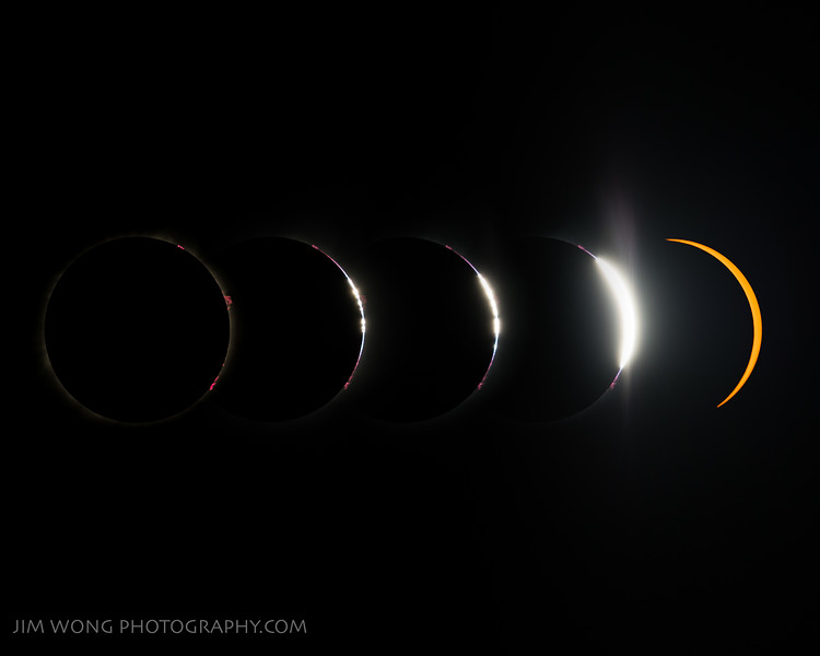 Total solar eclipse (at totality) (8/21/2017)