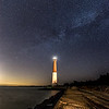 Milky Way Galaxy Over Barnegat Lighthouse 4/6/16
