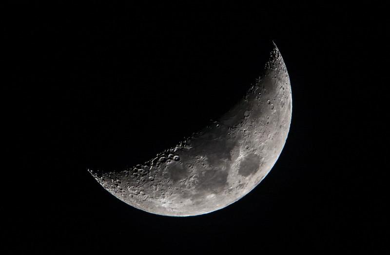 Waxing Crescent Moon 02/13/16
