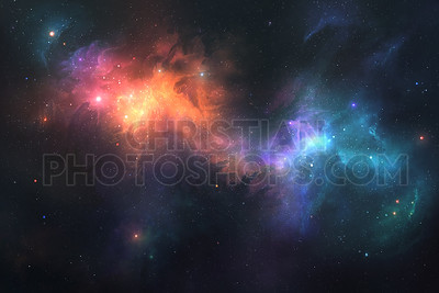 Beautiful space background