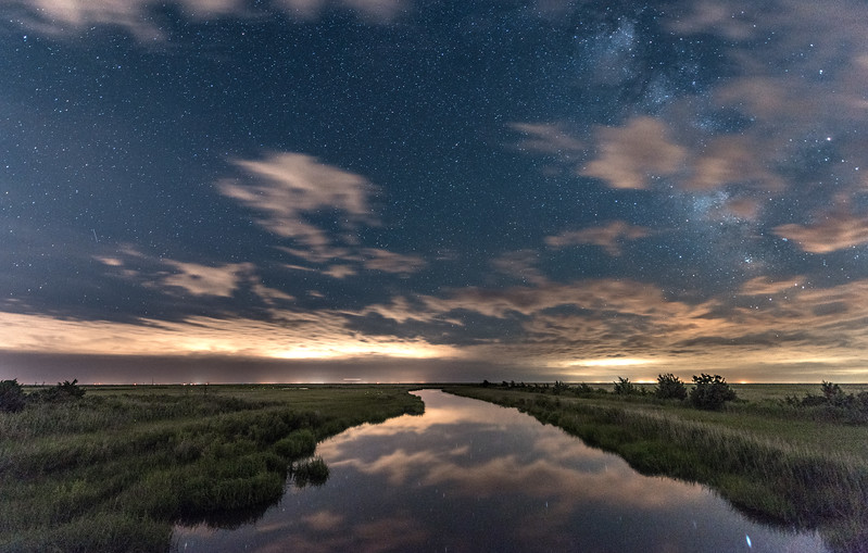 Starry Night Over Marshlands 6/26/17