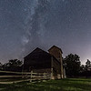 Milky Way Arching Farmhouse 7/31/17