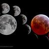 Lunar eclipse, Palo Alto, CA (6/4/15)