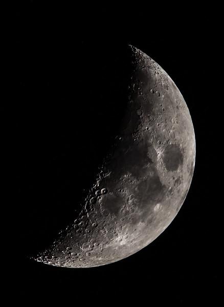 Waxing Crescent Moon 6/10/16