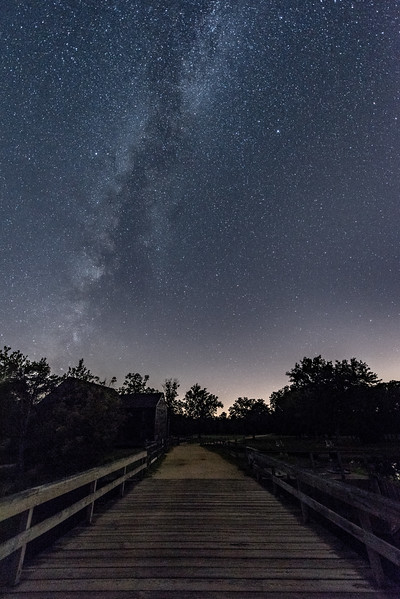 Milky Way Arching Over Pathway 7/31/17