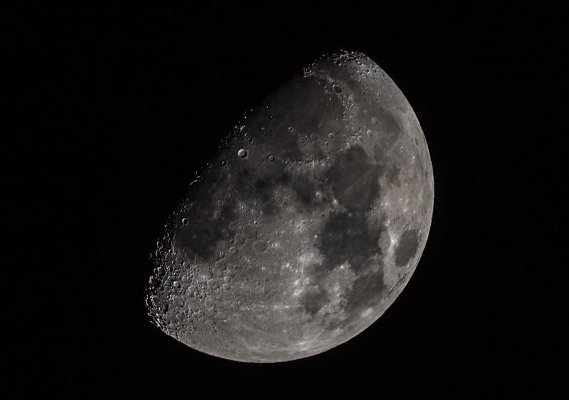 Waxing Gibbous Moon 12/8/16