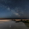 The Milky Way Rising Over Rock Jetty In Holgate, Long Beach Island 2/23/20