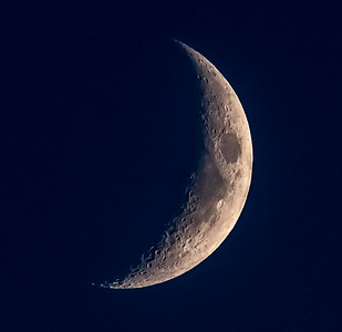 Waxing Crescent Moon 10/13/18