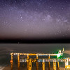 Milky Way Over Ocean Grove Pier 3/18/16