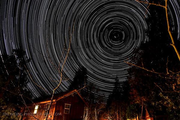 Star Trails, Groveland, California (5/15/13)