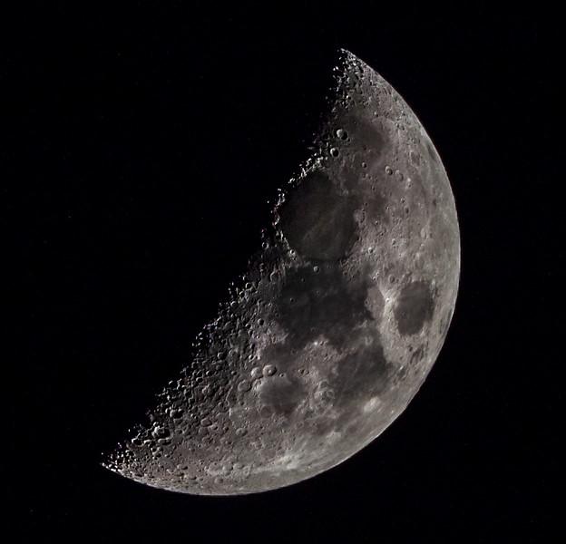 Waxing Crescent Moon 3/4/17