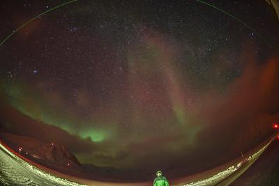 Aurora at Ny Alesund