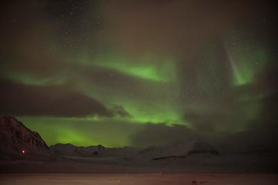 Aurora from the NIPR Rabben Observatory at Ny ALesund
