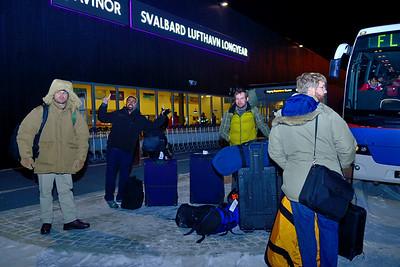 Observers Arrive at Longyearbyen