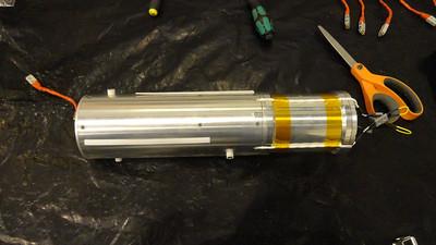 Sub-payload being prepared at Andoya