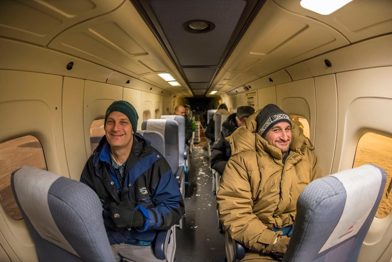 Nov 14: Flying to Ny Alesund